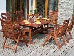 refinishing wooden outdoor furniture