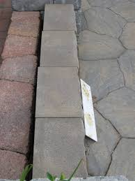Lowes Patio Pavers Ideas Shop Stepping Stones At Staggering