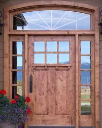 custom solid wood doorillwork by
