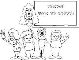 welcome to school coloring page back to school coloring sheets first day of school coloring pages
