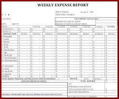 Sample Business Expenses Small Monthly Expense Report Budget ...