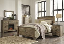 Distressed Wood Bedroom Furniture Reclaimed Barnwood Bedroom Pertaining To  Proportions 3517 X 2400