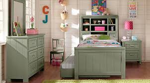 green bedroom furniture. Cottage Colors Green 5 Pc Full Bookcase Bedroom Furniture Rooms To Go Kids