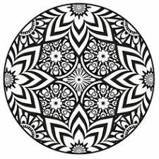 Small Picture Mandala Coloring Pages PDF Mandala Coloring Page Instant PDF