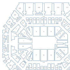 Bankers Life Fieldhouse Interactive Basketball Seating Chart