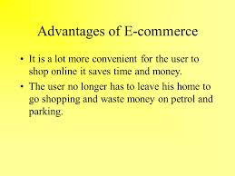 why is there concern about the effect of the internet in society  advantages of e commerce it is a lot more convenient for the user to shop