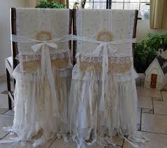 my whole heart vintage lace and burlap farmhouse shabby chic bride and groom chair cover set