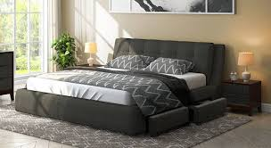 king bed with storage. Unique Storage Stanhope Upholstered Storage Bed And King With E