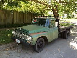 """CC For Sale: 1968 International """"1200"""" Flatbed Truck – """"Huge Engine"""""""