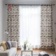 Single window curtain Drapes Curtain Simple Soft Decorative Window Screening C783 Club Factory Single Window Curtain Rod Buy Single Window Curtain Rod Online At
