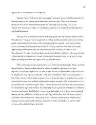 kirk mcswain bachelor s essay final homelessness in the american  10