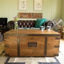room vintage chest coffee table: