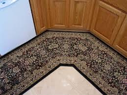 fabulous corner runner rug with dark beige non slip kitchen runner rug door mat set berber