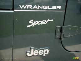 jeep wrangler sport logo. Beautiful Logo 2002 Jeep Wrangler Sport 4x4 Marks And Logos Photos In Logo P