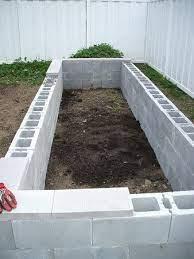concrete raised garden beds easy to