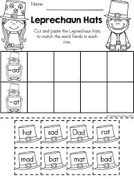 St Patrick's Day Kindergarten Worksheets Freebie | Ads ...