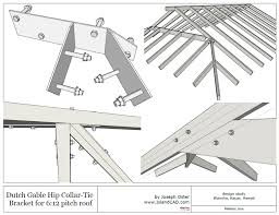 dutch gable roof bracket structural engineering other technical topics eng tips
