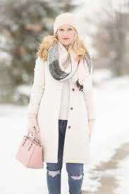 petite fashion and style blog j crew lady day coat loft plaid scarf