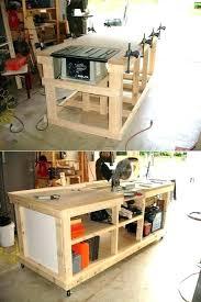 Garage Workbench Plans And Patterns Stunning Garage Corner Workbench Novelladdict