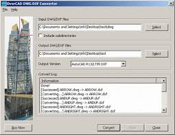 Convert Dwg To Dxf Dwg Dxf Converter For Autocad Overcad