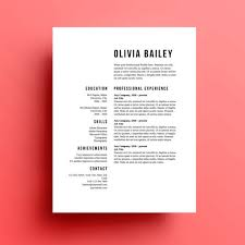 Gallery Of 8 Creative And Appropriate Resume Templates For The Non