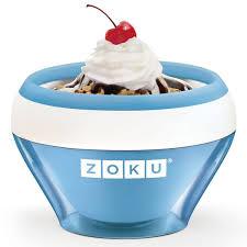 <b>Мороженица Zoku Ice</b> Cream Maker синяя - цена, фото ...