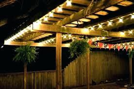 hanging lights outdoor