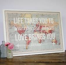 map of decor 17 cool ideas for world map wall art live diy ideas