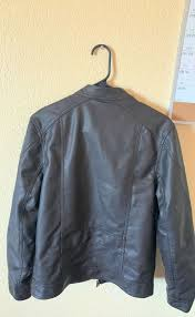 used small leather jacket great condition goodfellow co