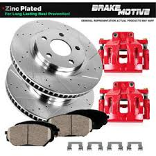 Details About Front Performance Brake Calipers And Rotors Pads For Toyota Sequoia Tundra S13we