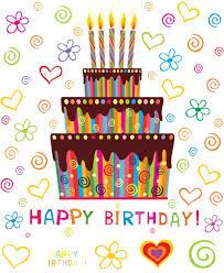 Targetas De Cunpleanos Happy Birthday Tartas Para Felicitar El Cumpleaños En