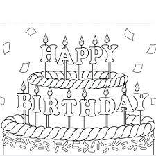 printable cards for birthday birthday printable coloring pages printable coloring cards birthday