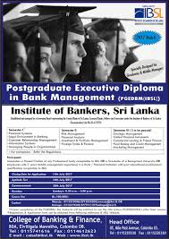 cobaf courses open for applications  postgraduate executive diploma in bank management