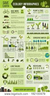 How To Make Chart On Pollution Ecological Vector Photo Free Trial Bigstock