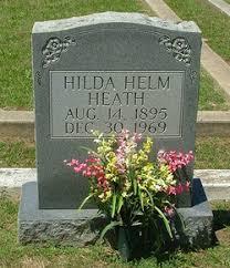Hilda Helm Heath (1895-1969) - Find A Grave Memorial