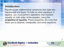 1 introduction equations are mathematical