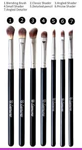 make up brushes eye set eyeshadow eyeliner blending crease kit best choice 7 piece essentials pencil shader tapered definer vegan synthetic