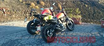 ducati scrambler 400 spied looks pretty much like the original
