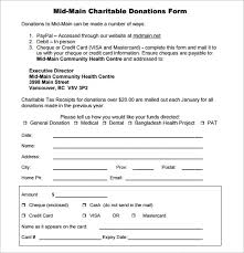Donation Form Examples Rome Fontanacountryinn Com