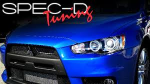SPECDTUNING INSTALLATION VIDEO: 2008-2010 MITSUBISHI LANCER ...