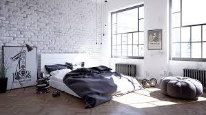 Scandinavian Bedroom Furniture Scandinavian Bedroom Design Dominant With White Color Theme