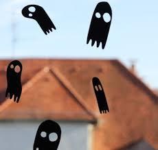 Halloween Fensterdeko Schaurige Fensterbilder Fürs