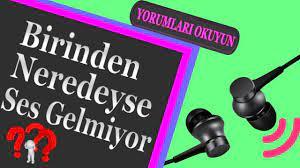Kulaklığın Bir Tanesinden Ses Gelmiyor İdi | İzleyin Bir gün İşinize yarar  - YouTube