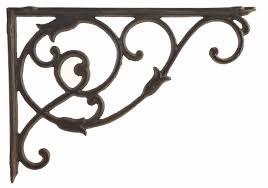 cast iron wall shelf bracket brace