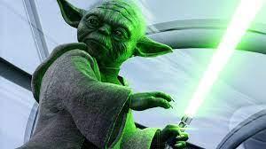 Wallpaper Yoda 4K Trick