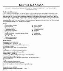 Early Childhood Resume Gorgeous 48 Early Childhood Development Resume Examples Childcare Resumes