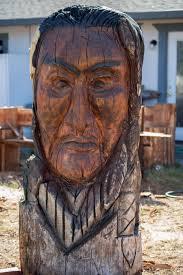 Ivan Freeman Chainsaw Woodcarver – Chico Art Seminar