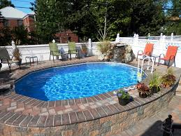 This Photo About Best Semi Inground Pools Design Ideas