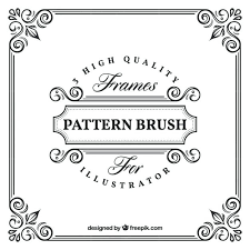 ornamental frame template free vector frames templates in html printable ten frame template psd free