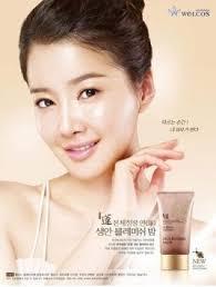 welcos no makeup face blemish balm whitening cream 50 ml spf 30 pa
